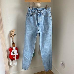 Vintage 512 Levi's slim fit tapered leg high rise